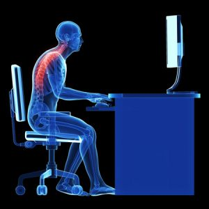 back pain whilst at your desk